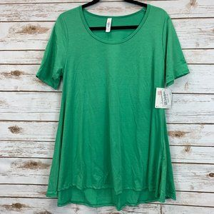 LuLaRoe Perfect T Medium Kelly Green NWT